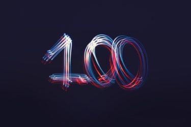 祝!100記事到達|これからも米国株インデックス投資ブロガーとして緩く生きる